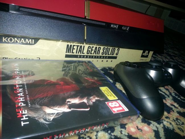 Yess! Finally.. I got it. . . Metal Gear Solid with Ps4 ✌ GameReady
