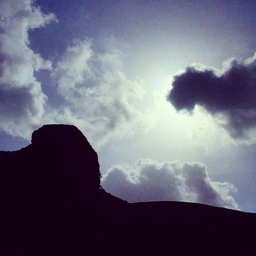 No filters. Cloud Mountain Shadow Landscape Anjaneri Nashikgram Sunny Picoftheday