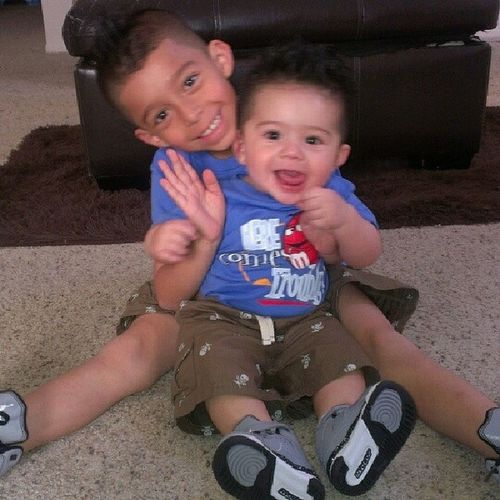 Am an empty soul without these two crazy Kings I would have never become the Woman I am today if it wasn't for them; Boutthatmmylife Unbreakablebond Sandovalboys TBT mmyskings Jakey Sunshine they're growing up too fast! mymotivation withoutthemamempty whatpushesme