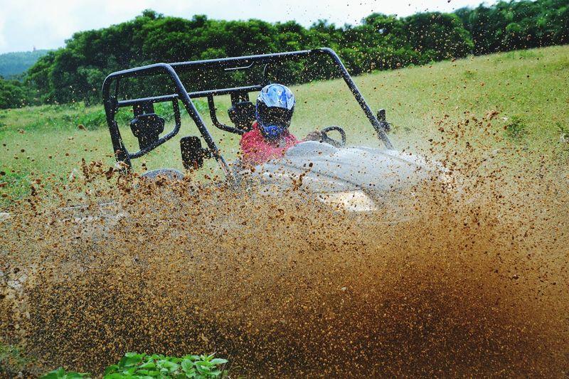 Big Foot Adventure Buggy Mud Fun Kymco Nature Mauritius