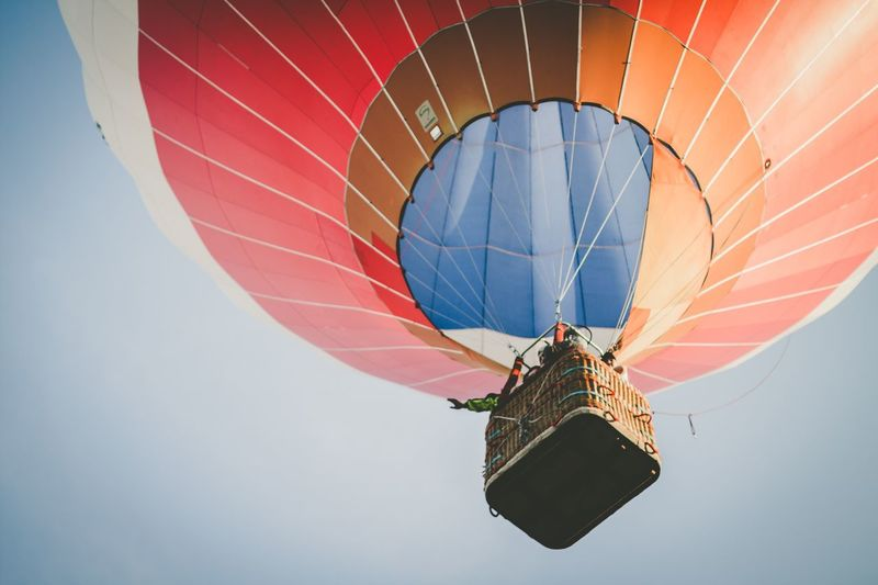Feel The Journey Travel Photography Traveling HotAirBallonFestival Hot Air Balloon Flying High Flying In The Sky Flying Balloon Skyview Freedom Skylovers The Great Outdoors - 2017 EyeEm Awards