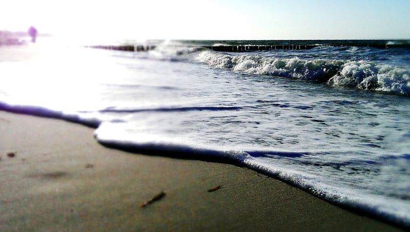 Sea Water Nature Beach Scenics Tranquility Beauty In Nature Outdoors Wave Day No People Sky Close-up