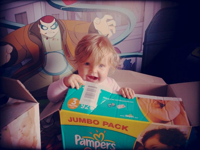 Baby In A Box-retro Toys Are Best!