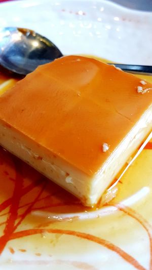 Yummy sweet leche flan? Desserts Lecheflan Sweets Mobile Food Photography Chowking Hungry!