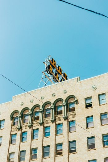 Baxter Hotel Architecture Building Exterior Low Angle View Built Structure Day Outdoors Window Clear Sky Blue No People Sky