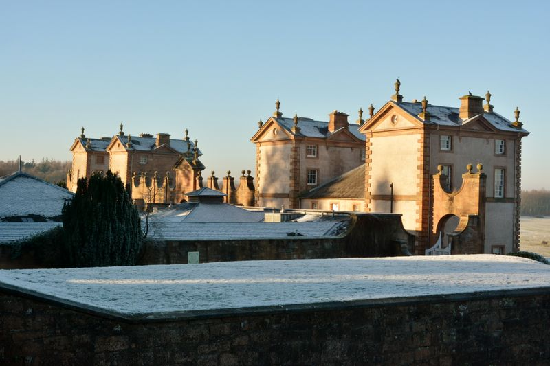 The Hunting Lodge of The Duke of Hamilton Castle Daylight Hunting Lodge Scotland Sky Winter