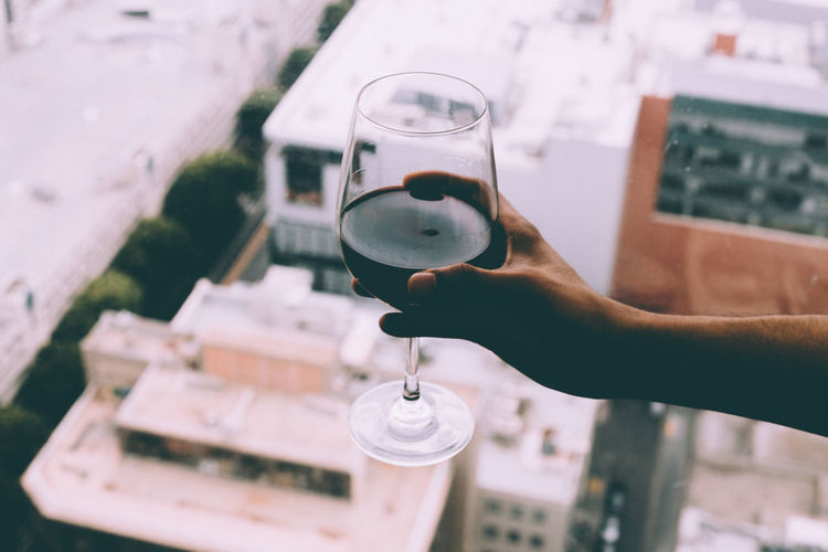 Red wine afternoon
