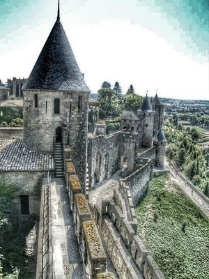 Carcassone, France Hrd_collection Francia