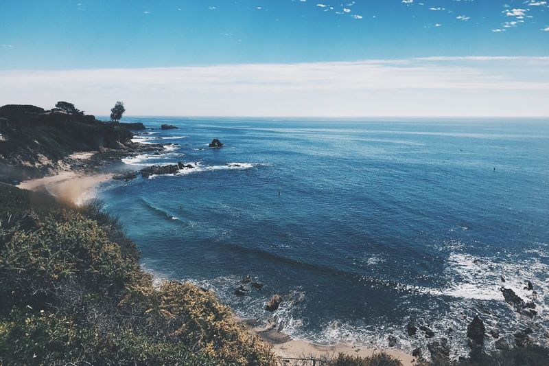 Horizon Over Water Sea Water Beauty In Nature Ocean View Outdoors Tranquil Scene Beach Sky
