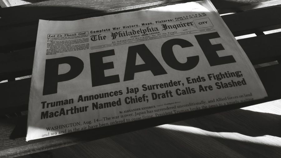 Check This Out USS Lexington News Photgraphy Notes From The Underground Peace Old But Awesome Old Newspaper Old But New  World Peace