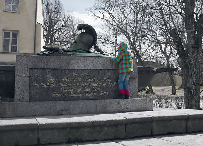 Coat Colorful Grave Little Girl Look Memorial Mourn Sad Small Soldier Young Break The Mold Break The Mold