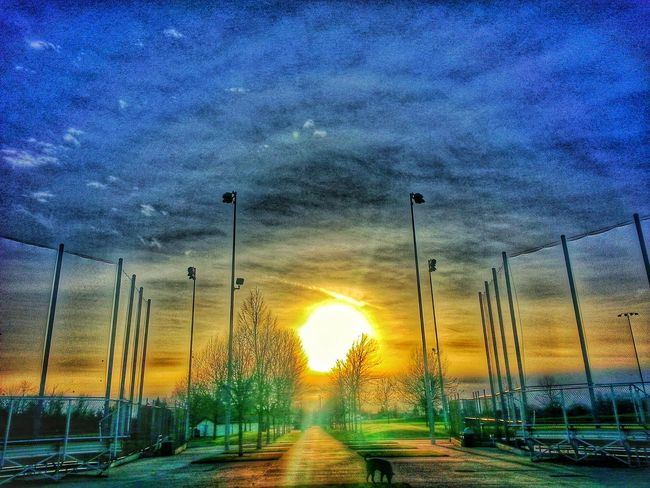 Softball Fields Sunset_collection Popular Photos EyeEm Best Shots Sky And Clouds Skyporn Hdr_Collection Getting Inspired EyeEm Masterclass Eyem Best Edits EyeEm Nature Lover Discover Your City Taking Photos Walking Around