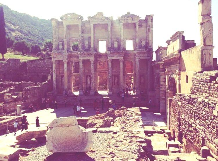 Turkey Izmir Efesus Antiques Antique Biblothek Celsus Greek Eyemphotography EyeEm EyeEmBestPics