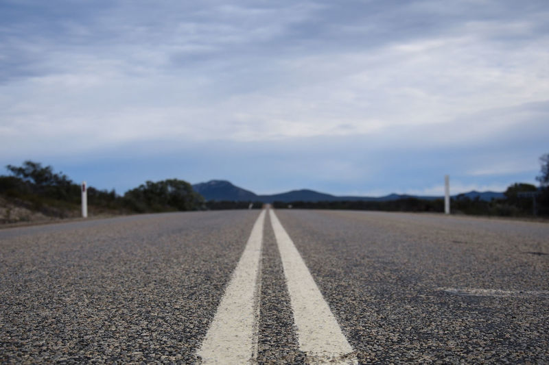 Straight empty road to the mountains Esperance Road Markings Western Australia Empty Road Empty Roads Landscape Moutains Raodtrip Road Lines Road Sign Roadside Wild Bush Summer Road Tripping The Great Outdoors - 2018 EyeEm Awards The Traveler - 2018 EyeEm Awards EyeEmNewHere