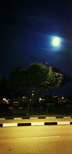 The Moon is bright tonight...