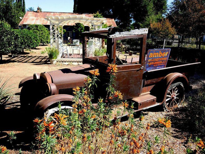 Model T Old Fashioned Abandoned Damaged Old Ford Truck Old Chevy Truck Old Rusty Truck Rusty