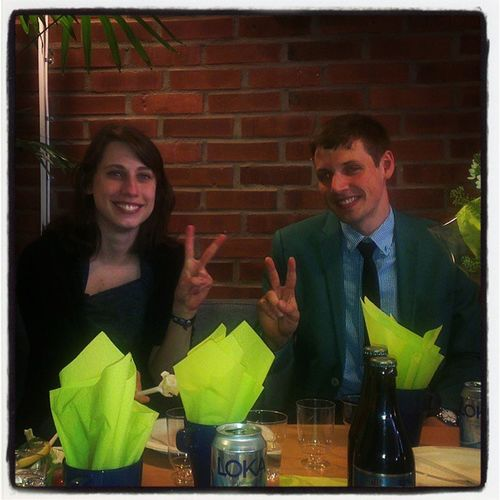 Congrats to the new Doctor in thermo-acoustic instabilities.