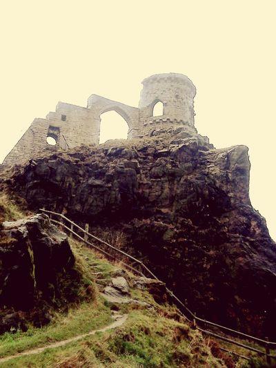 Taking Photos Castle Ruin Monument Victorian Folly Sky