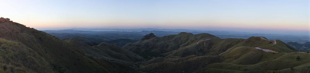 Amanecer en el cerro pelado de cañas guanacaste Beauty In Nature Day Landscape Mountain Mountain Peak Mountain Range Nature No People Outdoors Sky Sunset