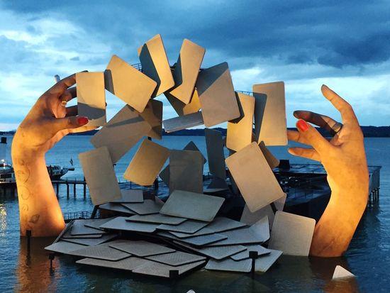 Carmen Bregenzer Festspielbühne Seebühne Bregenz Oper Bodensee Bodenseeregion Cloud - Sky