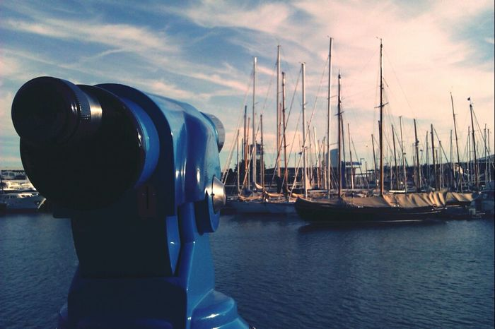 Portvell (Barcelona) Sea Landscape Boats Port De Barcelona  Streetphotography