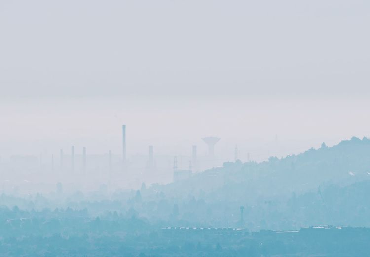 Budaörs Hungary Panorama Architecture Building Exterior Built Structure Cityscape Factory Industry No People Outdoors Pollution Sky Smoke Stack