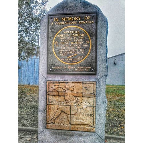 Crazy things you find at the airport in Atchison..... Ks_pride Memories Atchison Kansasphotographer Ameliaearhart Kansas