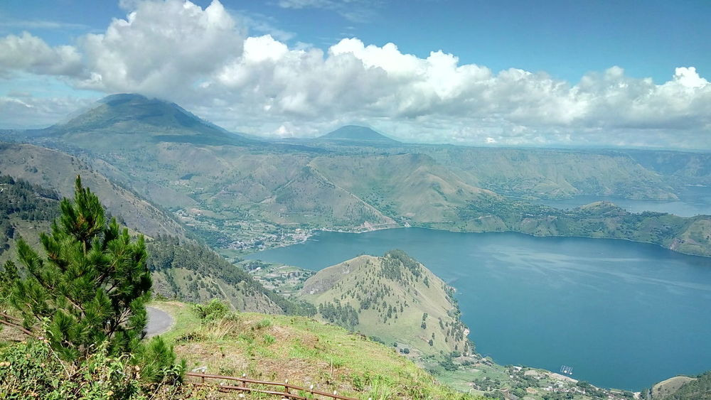 danau toba Landscape Nature Mountain Cloud - Sky Outdoors Beauty In Nature Scenics Lake No People Day Forest Tree Sky Water