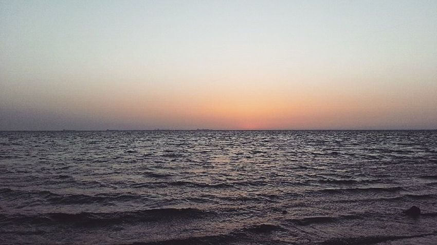 Sea And Sky Sea Sunset Beach Horizon Over Water Scenics Dramatic Sky Beauty In Nature Nature Sky Outdoors Travel Destinations Backgrounds Light Traveling Photography First Eyem Photo Colors Artist Suadi_arabia Summer My Camera Art