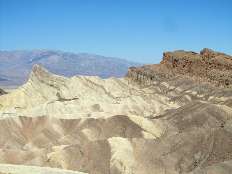 Desert Nature Outdoors Day Landscape No People Beauty In Nature California Death Valley National Park Death Valley Nikond5200photography Nikon D5200 Nature Photography Nikon D5200 USA Sky Mountain Zabriskie Point EyeEm Nature Lover EyeEm Best Shots EyeEmNewHere The Great Outdoors - 2017 EyeEm Awards