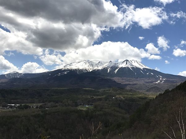 Mountain Beauty In Nature Landscape Sky Nature Cloud - Sky Snow Scenics Day No People Outdoors Snowcapped Mountain Scenery 御嶽山 EyeEmNewHere  The Great Outdoors - 2017 EyeEm Awards EyeEmNewHere The Great Outdoors - 2017 EyeEm Awards