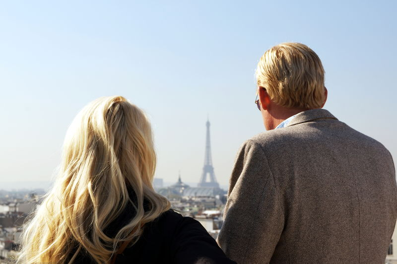 Blondy tourists in Paris Blond Blond Hair Couple Paris Roofs The Tourist Tour Eiffel Tourists Telling Stories Differently Up Close Street Photography The Street Photographer - 2016 EyeEm Awards EyeEm x ICP - Telling Stories Differently Two Is Better Than One My Year My View The City Light Long Goodbye