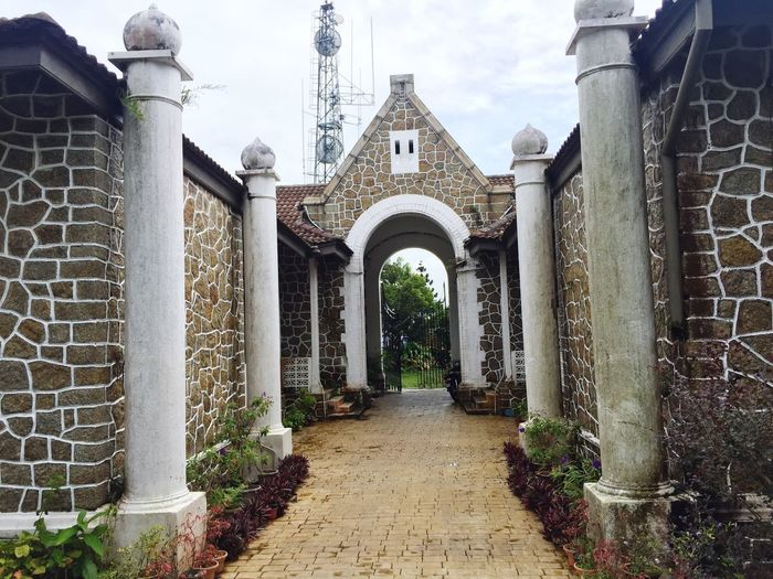 Architecture Arch Architectural Column Stone Material Ancient British ERA Brown White Built Structure Hometown Travel Weekend Check This Out Sky Penang
