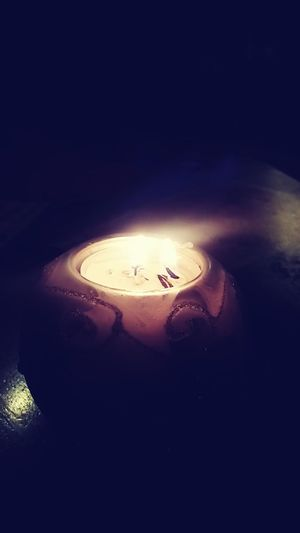 Relaxing Candlelight With Friends
