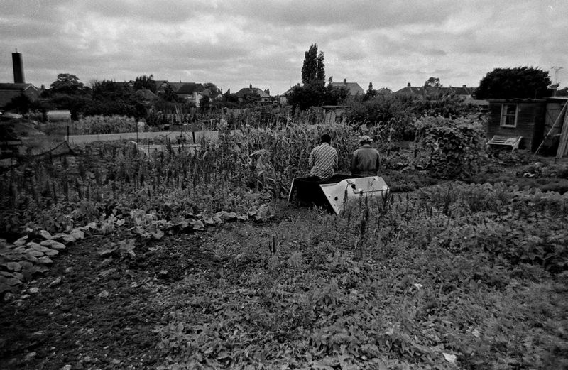 Nice here isn't it? Abandoned Architecture Building Exterior Built Structure Cloud Cloud - Sky Damaged Day Documentary Reportage Black And White Taking Photos My Point Of View Allotments Gardening Soil Earth Plants Growing Field Grass Growth House Landscape Obsolete Old Plant Run-down Rural Scene Sky Tree