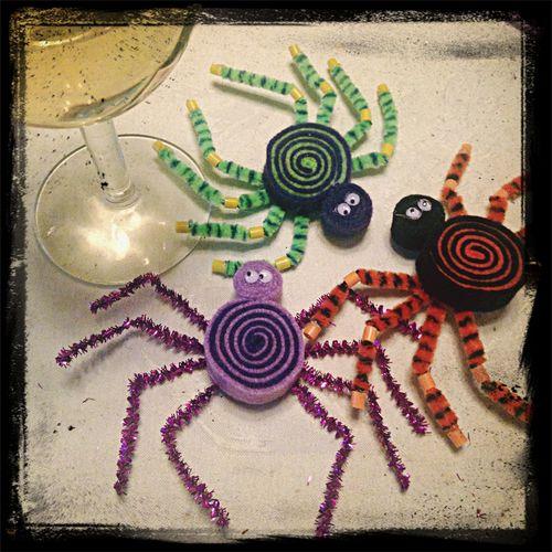 Super spooky Halloween crafting. Halloween Spidey-senses Fun With Felt Feeling Crafty