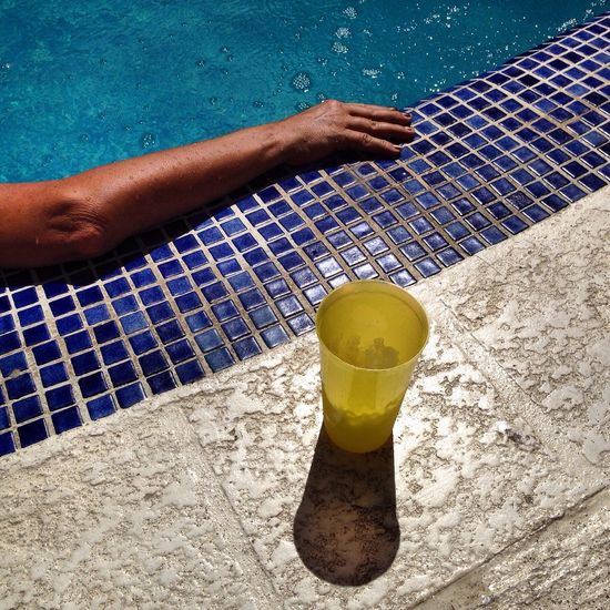 Relax at the pool Relax Time  Swimming Pool Relaxation Drink Relaxing Arm Part Of Body