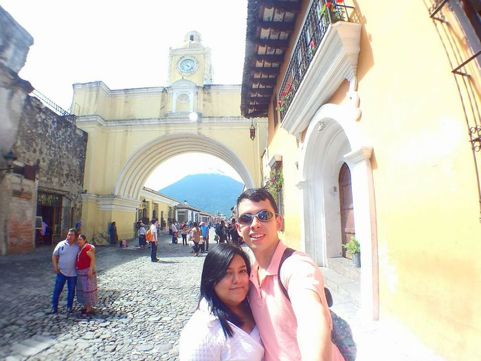 Selfie ✌ Love Love❤ Adult Adults Only Men People Vacations Togetherness Women Summer Travel Destinations Young Adult Day Architecture Two People Young Women Outdoors City Only Men Sky La Antigua Guatemala Guatemala 🇬🇹 City Life Street Photography