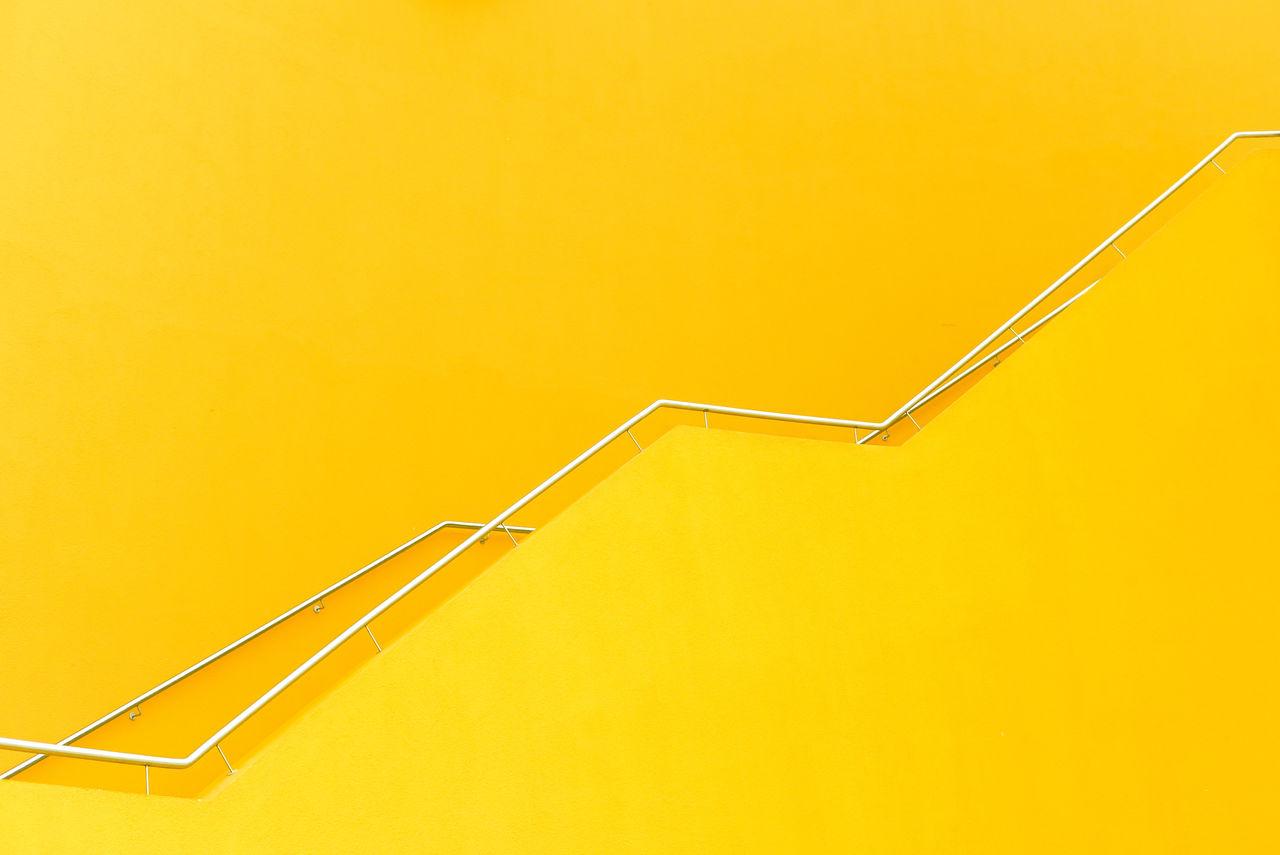 Railings of yellow building
