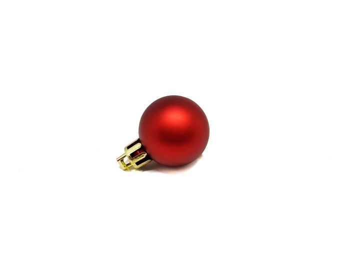 red christmas ball White Background Decoration Decorate Christmas Tree Xmas Ball Christmas Chrisymas Ball Insect Animal Themes