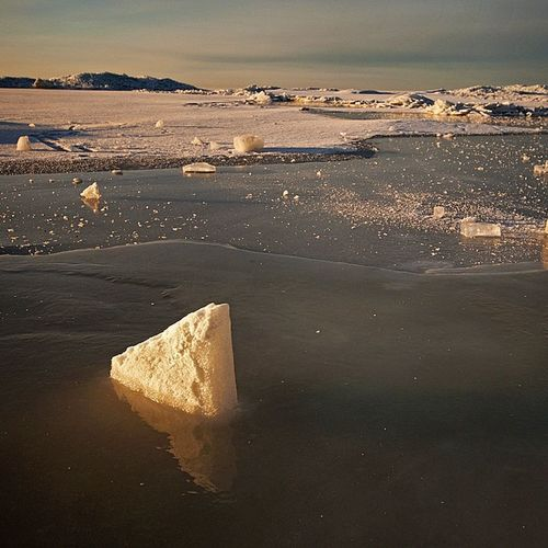 Finland_gulf Winter Ice Mirror horizon january sunrise snow russia petersburg beach