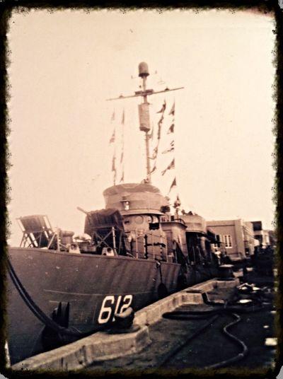 Navy Ship Vintage