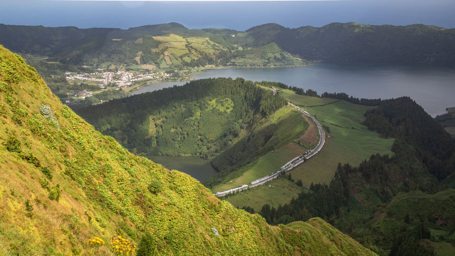 Boca do inferno viewpoint - magnificent viewpoint in the island of são miguel, azores