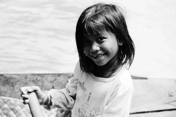 Cambodia Littlegirl Happy Shades Of Grey