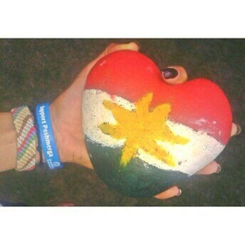 ♥ ♥ ♥ ♥ ♥ ♥ ♥ ♥ ♥ Kurdistan Kurdish Flag