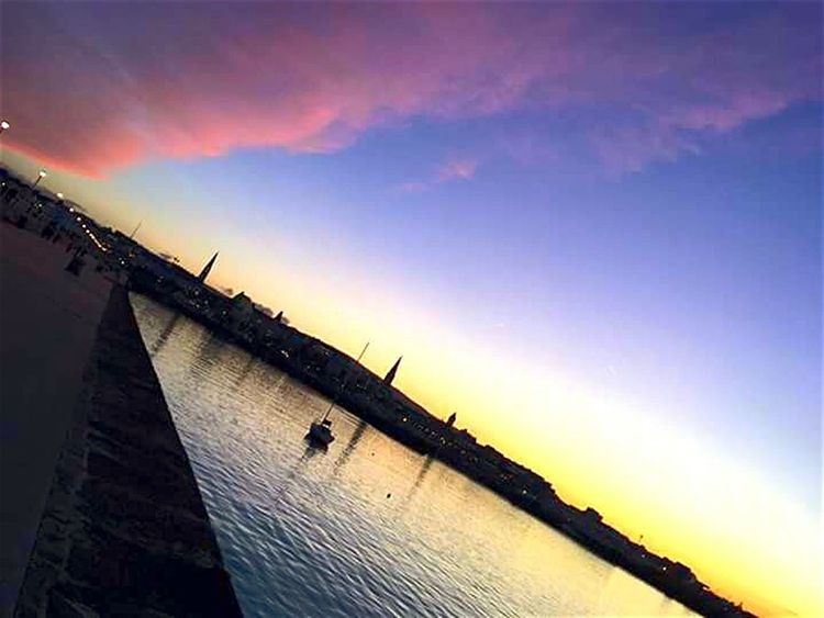Sunset Outdoors No People Nautical Vessel Day Architecture Sky Nature Ireland🍀 Multi Colored Dublin Harbour Sea Side Seascape Photography Lost In The Landscape