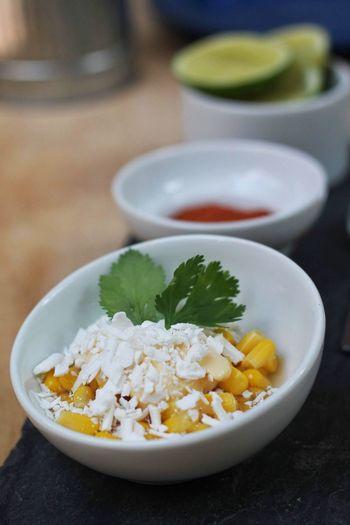Esquite | Amuse Bouche Esquite Amuse Bouche Entrada Comida Mexicana  Cocina Mexicana Elote Corn Mexican Food Bowl Close-up Food And Drink