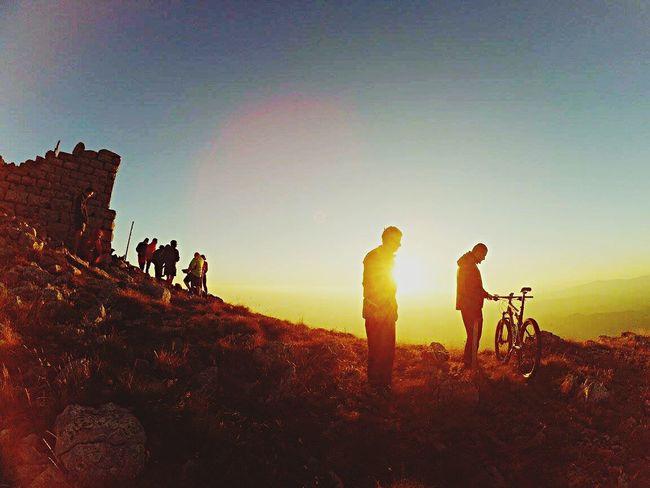 Sunset on mount Artan , East Serbia Sunset #sun #clouds #skylovers #sky #nature #beautifulinnature #naturalbeauty #photography #landscape Mountain Biking First Eyeem Photo