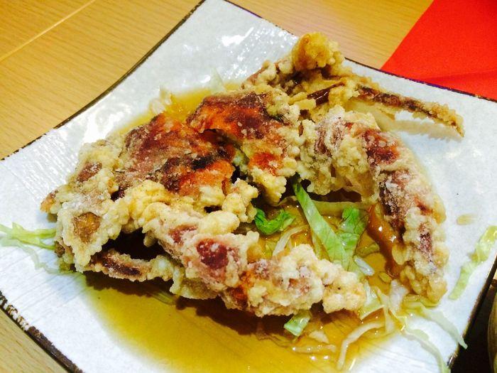 Asian Culture Crab Softshellcrab Tempura Fried Japanese  Asian  Food Seafood Yummy