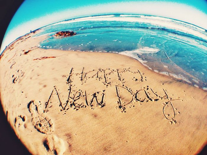 EMCSummerViews Happy New Day Happy Beach Beach Photography Life Is A Beach Ocean Quotes Quote Of The Day  Getting Inspired